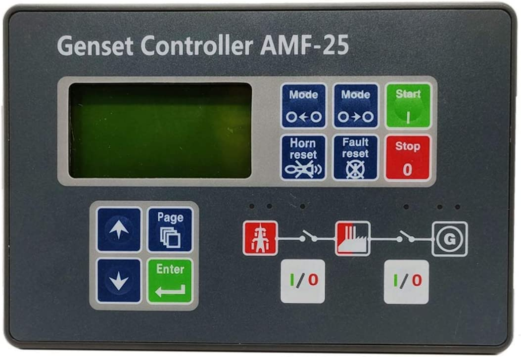 Disenparts AMF25 AMF-25 Genset Control OFFicial Spasm price mail order Controller Scr Self-Start