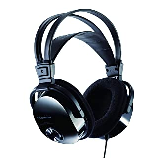 Pioneer SE-M531 Negro Circumaural Diadema auricular - Auriculares (Circumaural, Diadema, Alámbrico, 7 - 40000 Hz, 3.5 m, N...