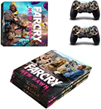 PS4 Pro Console and Controller Skin Set - Far Cry New Dawn Gaming Vinyl Skin Cover by Mr Wonderful Skin