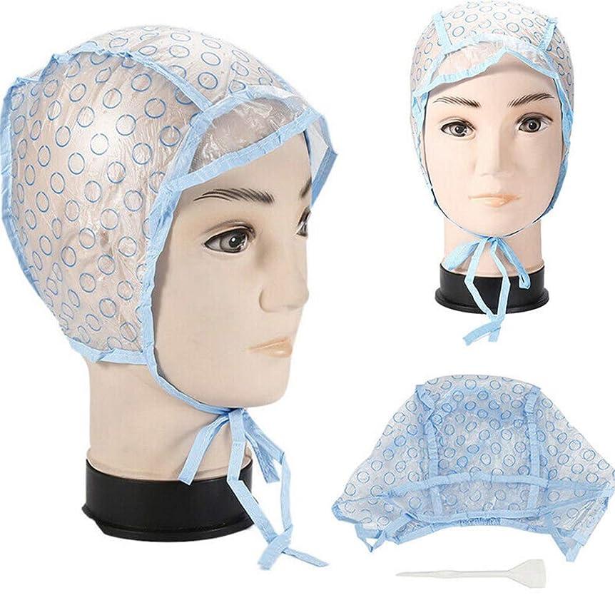 ケープ見分ける買い手強調表示キャップ、ホームサロンの使用のためのプラスチック製のフック付き使い捨て髪強調表示サロン髪の着色染料キャップ