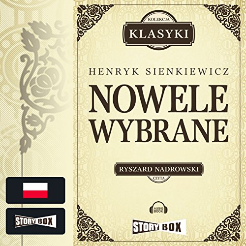 Nowele wybrane audiobook cover art