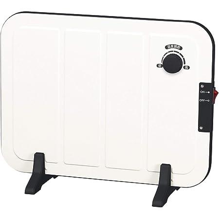 [山善] ミニパネルヒーター(温度調節機能付) ホワイト DP-SB167(W) [メーカー保証1年]