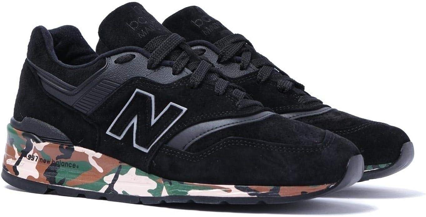 New Balance 997 Made in USA Scarpe da Ginnastica Nere e ...