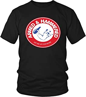 armed and hammered shirt