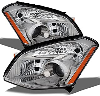For Nissan Maxima OE Replacement Headlights Driver/Passenger Head Lamps Pair Left + Right