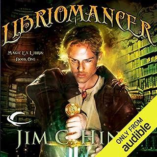 Libriomancer audiobook cover art