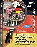 2. AUFLAGE: DVD Einbürgerungstest Deutschland (460 interaktive Fragen und Antworten). Würden Sie ihn bestehen? Deutschland-Quiz auf DVD & Prüfungsvorbereitung für den offiziellen Einbürgerungstest.