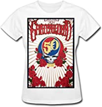 QMY Women's Grateful Dead 50th T-Shirts White