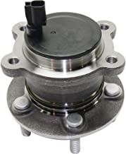 Wheel Hub and Bearing compatible with 2013-2017 Ford Escape C-Max Rear Left or Right FWD With ABS Sensor Studs