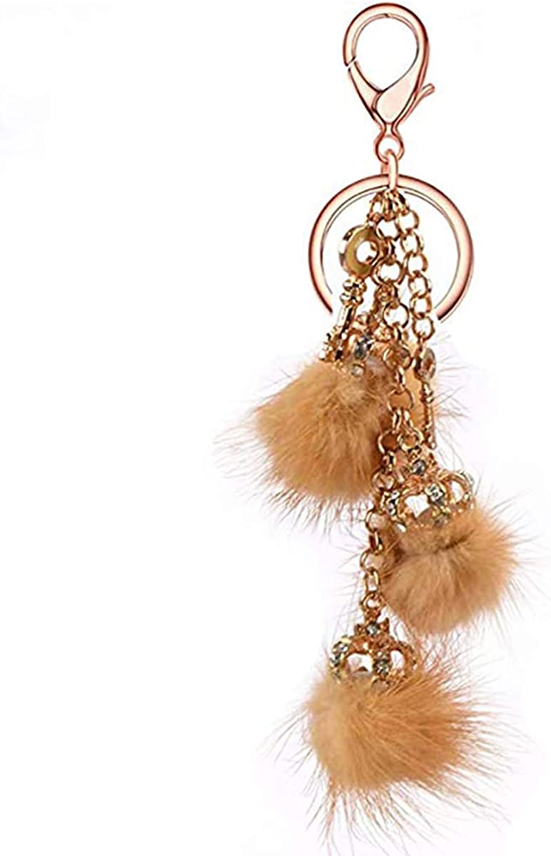 SA@ Luxury Bling Featured Diamond Crystal Rhinestone Keychain Key Chain Purse Handbag Bag Decoration Gift