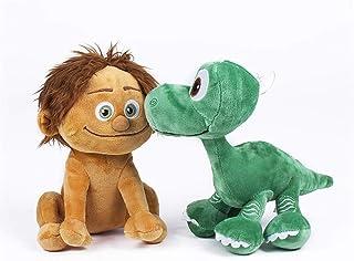 2Pcs The Good Dinosaur 22cm Spot Boy + 22cm Dinosaur Arlo plush stuffed toys for Children Birthday Gift Detazhi