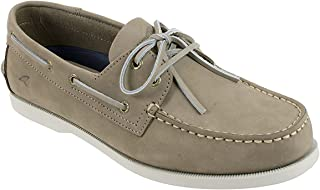 Men's Boat Shoe, Classic Look, Premium Genuine Leather, with Odor Control Technology, Size 8 to 13