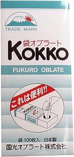 【セット品】国光オブラート 袋型 100枚入 ×8個