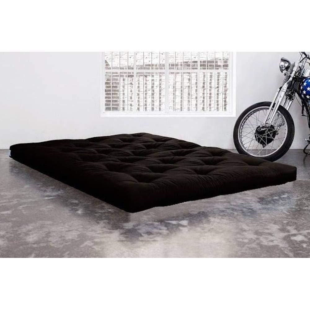 KARUP Colchón futón Doble Látex Negro 180 * 200 * 18 cm: Amazon.es: Hogar
