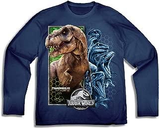 Jurassic World Big Boys' T-Rex Long Sleeve Tee