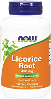 Licorice Root 450mg 100 Capsules (Pack of 2)