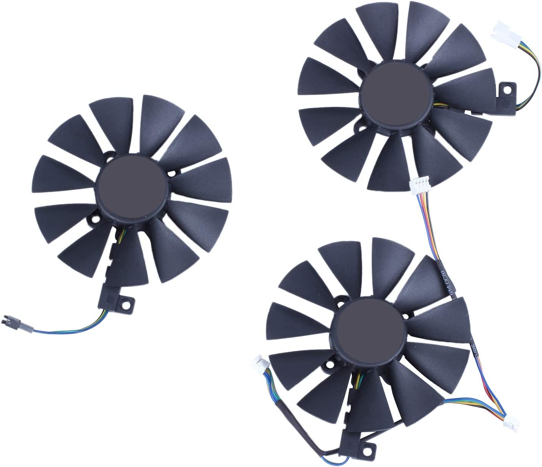 Adanse Ventilador de refrigeración de 87 mm PLD09210S12M PLD09210S12HH reemplazar el refrigerador para ventilador de tarjeta de imagen Strix GTX 1060 OC 1070 1080 GTX 1080Ti RX 480