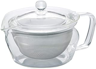 Hario ChaCha Kyusu Zen Tea Pot, 300ml, Clear
