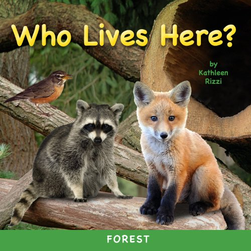 Who Lives Here? Forest (Photoflap Board Books)