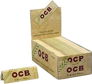 OCB Lot de 50 paquets de papier à rouler Chanvre bio by OCB