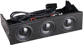 Fangfeen Stereo circostanti Computer Case Speaker PC Pannello Frontale Desktop Musicale Integrato