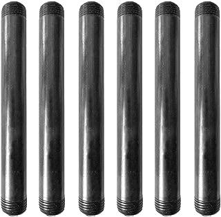 IBEUTES 6-Pack Black 1/2