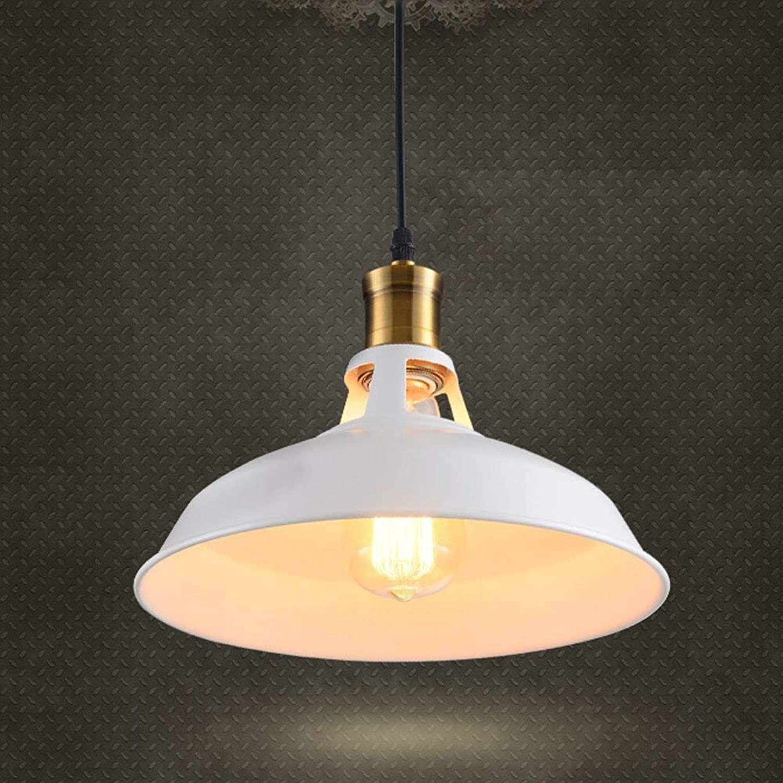 calidad auténtica XAJGW Colgante, 1 luz, Hilado de Aluminio de Hierro Negro Negro Negro Industrial, luminaria de Techo Moderna, Montaje Empotrado, lámparas Colgantes de luz Iluminación (Color   blancoo)  precioso