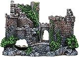 Ghlevo Decoración del Acuario Material de Resina del Castillo Grande Material de la Resina de los Accesorios Accesorios Accesorios Tanque de Peces Adornos para Betta Camarón Tortuga