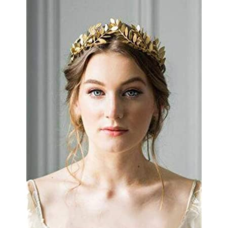 Gold Headpiece Festival Leaf Hair Accessories Leaf Hair pice Bridal Leaf Crown Wedding Tiara Silver Leaf Headpiece Hippie Crown