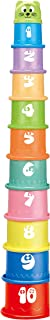 Ram© Baby Kids 11 Piece Stacking Cups Stackers Pre-School Learning Toy Stacking Tower Pyramid