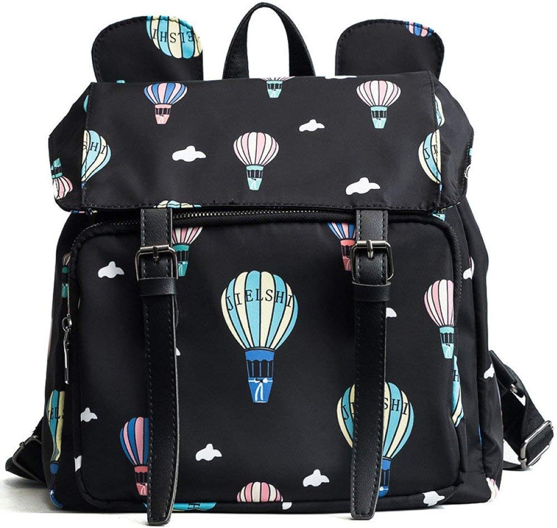 Frauen Rucksack Leichte Oxford Canvas Reisetasche für Frauen Frauen Frauen Outdoor-Tagesrucksack (Farbe   schwarz, Größe   Einheitsgröße) B07PZ77T3W | Luxus  991cfd