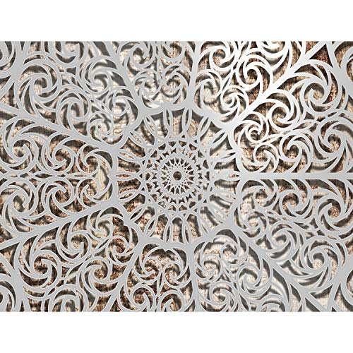 Fototapete Mandala Vlies Wand Tapete Wohnzimmer Schlafzimmer Büro Flur Dekoration Wandbilder XXL Moderne Wanddeko - 100% MADE IN GERMANY - Runa Tapeten 9158010a