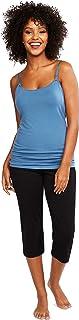Motherhood Maternity Pantalones de Punto para Dormir de Longitud Corta Pantaln de Pijama para Mujer