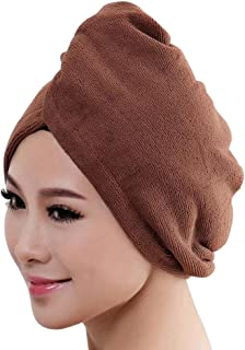 9c57732bfc JJLIKER Microfiber Towel Wraps Quick Dry Hair Women Drying Bath Shower Head  Wrapped Bath Cap