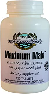 Maximum Male Formula with Horny Goat Weed, Yohimbe, Tribulus, and more. Increase Your Male Performance and Improve Stamina...