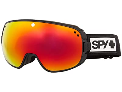 Spy Optic Bravo (Matte Black HD Plus Bronze w/ Red Spectra Mirror) Snow Goggles