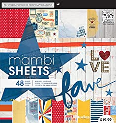 Mambi sheets with American theme
