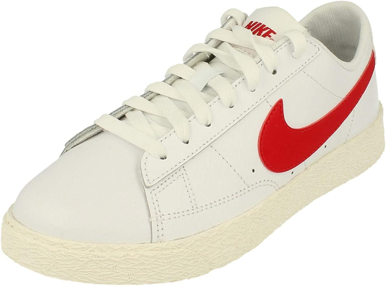 Amazon.com   Nike Kid's Shoes Blazer Low White University Red (GS ...