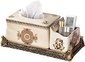 Paper Bins Ceramic Tissue Box, Tissue Box Creative, Home Living Room Table Coffee Table, Tissue Box Storage, Creative Home...