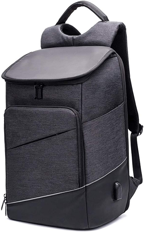 BLWX - USB-Lade Multifunktionsrucksack Laptop Groe Kapazitt Outdoor Travel Freizeit Rucksack Wasserdicht verschleifest Atmungsaktiv Business Work Backpack Mnner Und Frauen Modelle Rucksack