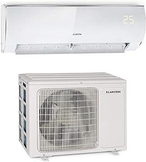 KLARSTEIN Windwaker Eco - Climatiseur Split, Chauffage et Refroidisseur, A++/A+, 5 Modes, 3 Modes Veille, écran LED, Téléc...