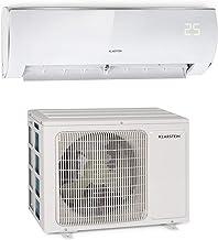 Klarstein Windwaker Eco Split - Klimaanlage, Heiz- und Kühlgerät, Energieeffizienzklassen: A/A, 5 Betriebsmodi, 3 Schlafmodi, LED-Display, Fernbedienung, 9.000BTU/2,7 kW, Luftstrom: 610 m³/h, weiß
