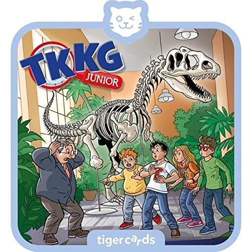 Tigerbox 4161 tigercard-TKKG Junior-Folge 5: Dino-Diebe