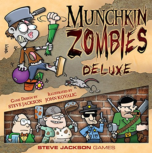"""Steve Jackson Games \""""Munchkin Zombies Deluxe Card Game"""