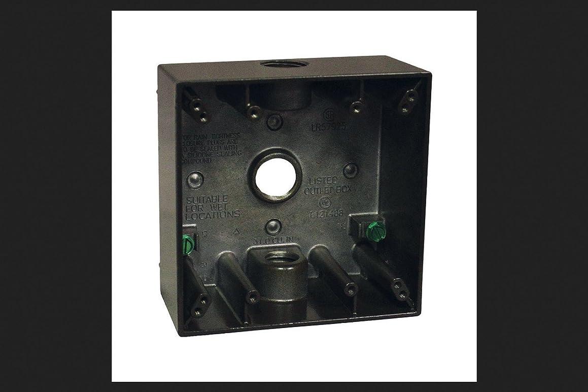 Outlet Box 2g Brnz