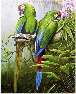 DHYWGS Niños King Kong Loro Animal DIY Pintura Digital por números Modern Wall Art Canvas Painting Decoración para el hogar Principiante-1
