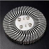 EsportsMJJ 90X10Mm Rotondo Spirale in Alluminio Dissipatore di Calore Radiatore per 10W La...