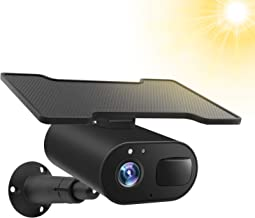 Solar Powered Security Camera,Wireless Security Camera Outdoor ,1080P Solar Rechargeable Battery Power IP Home Cameras,Nig...