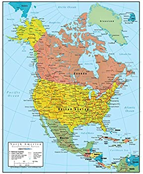 Best map north america Reviews