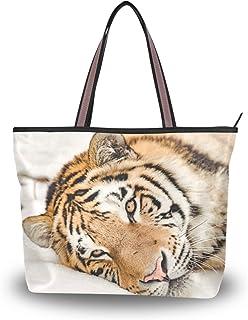 My Daily Damen Schultertasche Tiger Handtasche